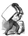 Trunk Man vintage Image GraphicsFairy008b