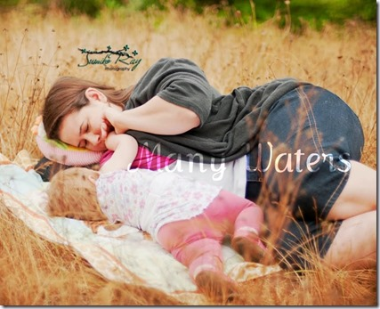 Many Waters Breastfeeding laying down