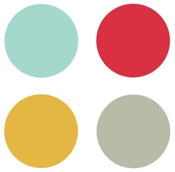 Color palette from Baby Jane fabrics