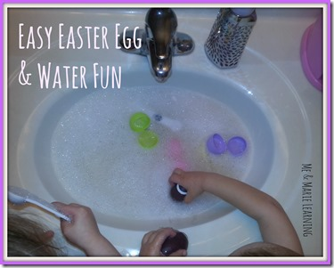 egg and water fun