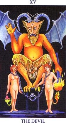 Arcano XV - O Diabo