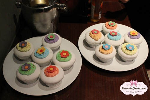 Luxola Event cupcake