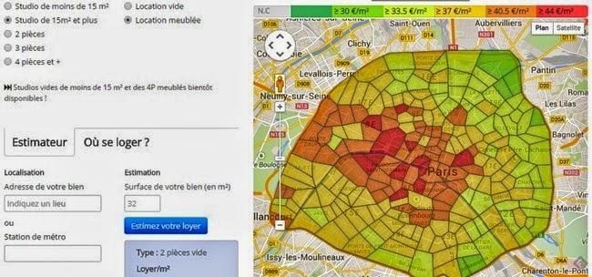¿Cuánto cuesta alquilar un estudio-apartamento de estudiante en París?