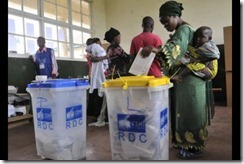 Congo election voting