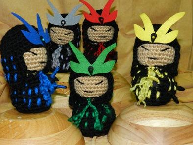 Samukokes de La Costurera Ninja