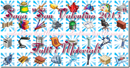 tutti i materiali - saga san valentino 2015