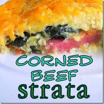 corned beef strata 2