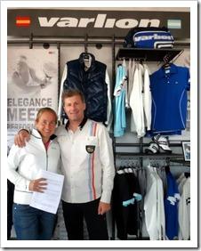 Carolina Navarro terminará su carrera en el mundo del pádel junto a VARLION.