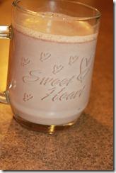 Hot Chocolate Truffles Cup