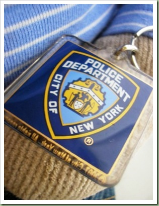 New York Police Department Keyring