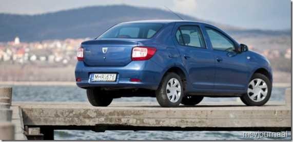 Dacia Logan Sedan test 02