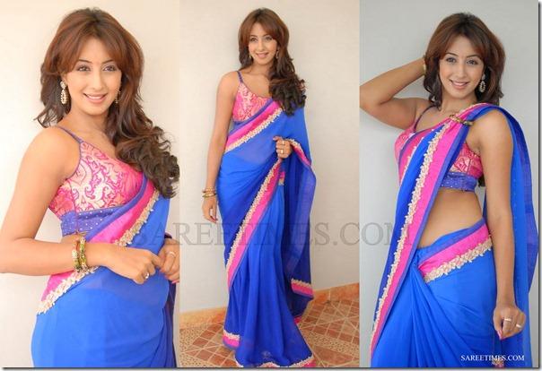 Sanjana_Blue_Designer_Saree