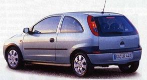 Opel Corsa 3-5 p 2001