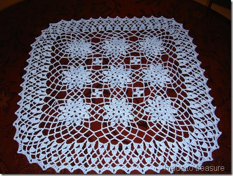 Lace Bouquet Doily - Emma Wiley