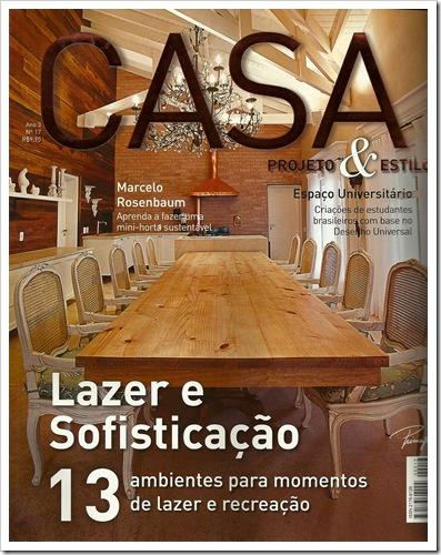 CLIPPING CASA E DECORACAO CAPA JANEIRO 2012