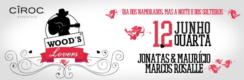 Jonatas & Maurício no Dia dos Namorados do Wood's Bar em São Paulo