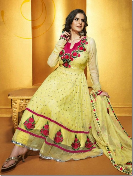 Zarine_Khan_Yellow_Salwar