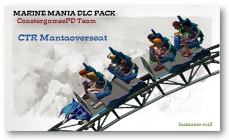 CTR Mantaoverseat  in Marine Mania Pack (CoastergamesPD Team) lassoares-rct3