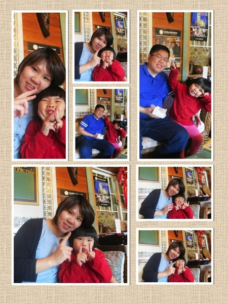 Yining mummy daddy collage