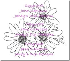 Wind Flower - Janey's Digi Designs - Watermarked