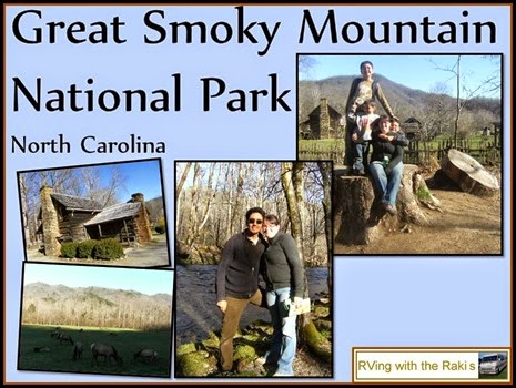 Live your life, our family motto.  Here are some amazing things we did during our RV vacation between workamping jobs. RVing with the Rakis - Great Smoky Mountain National Park