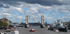 Tower Bridge. Including dramatic skies!