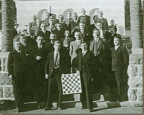Schachverein Rottweil gruppenbild 1937 (2)