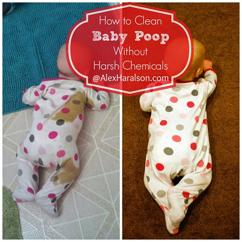 how to clean baby poop3