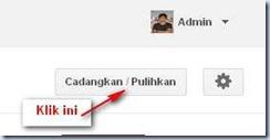 Mengganti Template Blogspot_Cadangkan/pulihkan