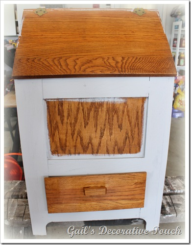 Gail's Decorative Touch: Potato/Onion Cabinet