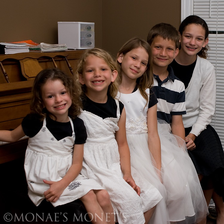 Kids piano recital blog