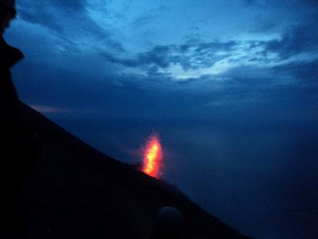 Stromboli - Eruptie vulcanica
