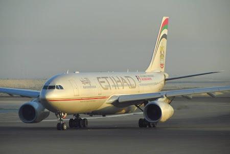 Unul din cele 16 avioane din aceasta vacanta