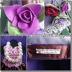 particolari rose borsa casetta
