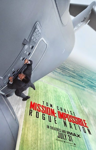 Mission Impossible Rogue Nation - movie poster