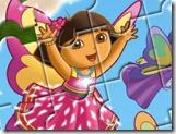 Quebra-cabeça da Dora exploradora