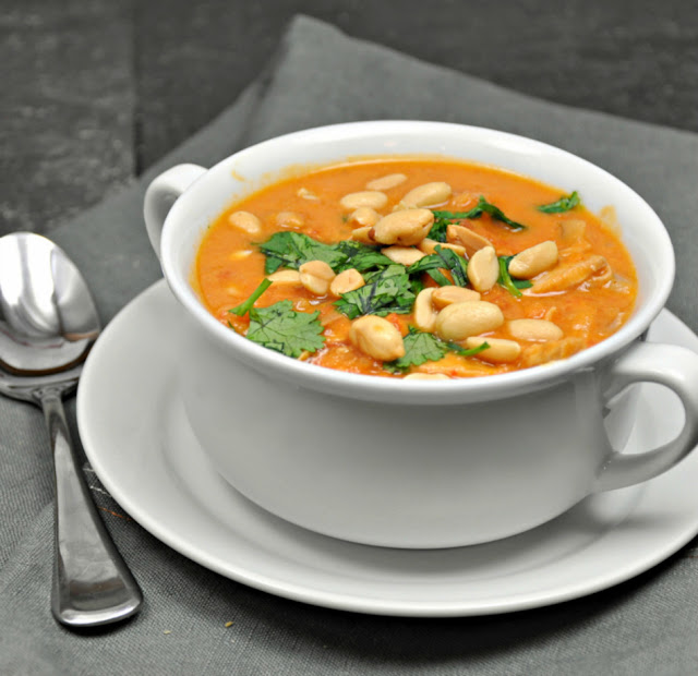 African Chicken and Peanut Stew