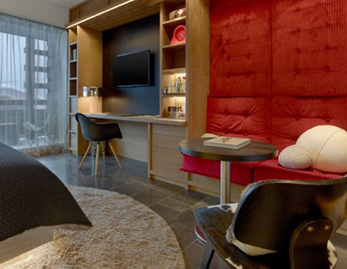 W Verbier hotel interior design decor contemporary swiss switzerland