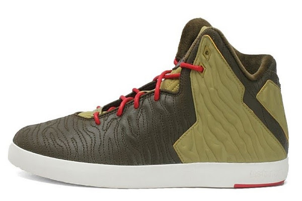 A New Look at Nike LeBron XI NSW Lifestyle in Olive Colorway