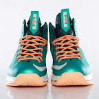 nike lebron 10 gr miami dolphins 3 02 Gallery: Nike LeBron X Miami Setting or Dolphins if you Like