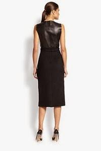 1062-BOSS-HUGO-BOSS-Women-s-Leather-Twill-Check-Dress-2