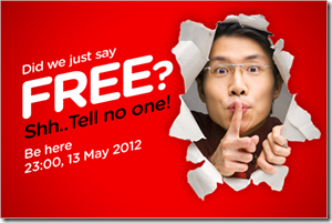 Airasia Free Seat Promotion
