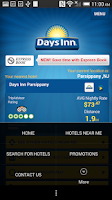 Screenshot of Days Inn
