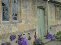 Dry mortar almshouses, Chipping Camden.