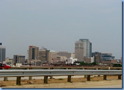 8043 ramp from US-280 to I-20, Alabama - Birmingham, AL cityscape