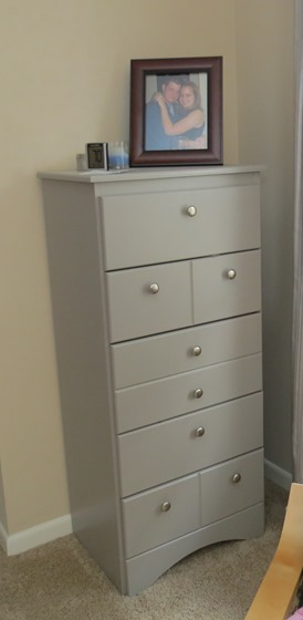 Dresser we painted