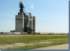 2031 Saskatchewan TC-1 East Reed Lake Pioneer grain elevator