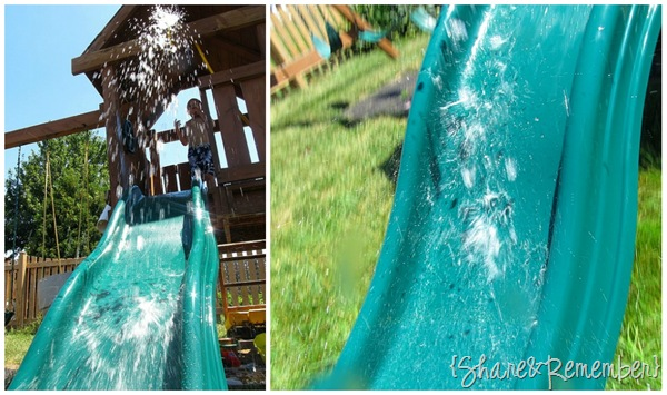 Homemade Water Slide 2