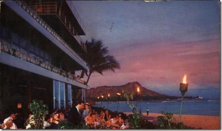 Reef Hotel sunset motel