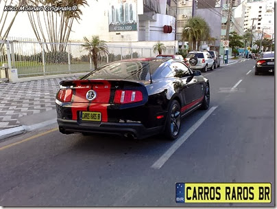 Ford Mustang Shelby GT500 preto (1)